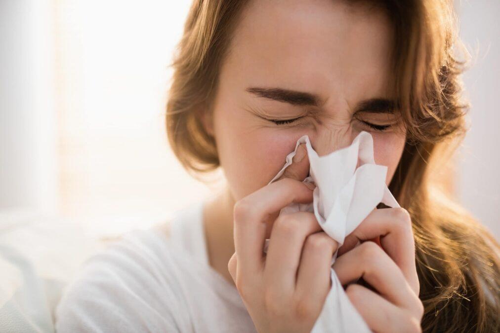 Naso chiuso senza raffreddore