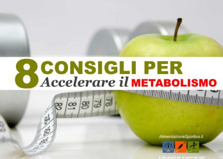 Come accelerare il metabolismo
