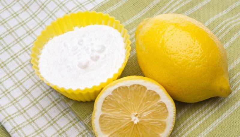 Bicarbonato di sodio e limone. Ottimi benefici