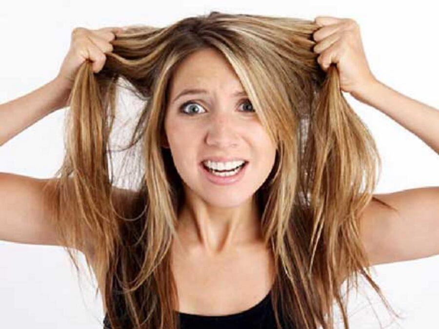 Enzima catalasi per i capelli bianchi